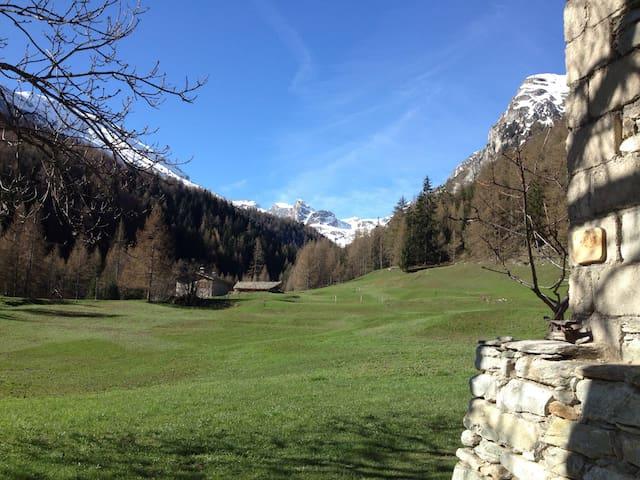 Gite 10 pers Ancien Refuge Savoie - Bramans - House
