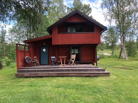 Mysigt Härbre i Dalarna, Hjortnäs nära Leksand,