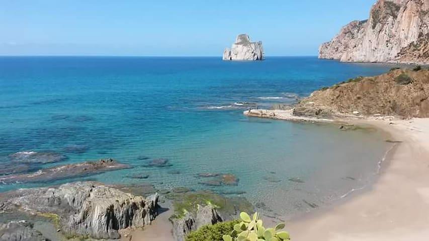 CASA LAMARMORA - MARE,MINIERE,TREKKING E CLIMBING - Nebida - บ้าน