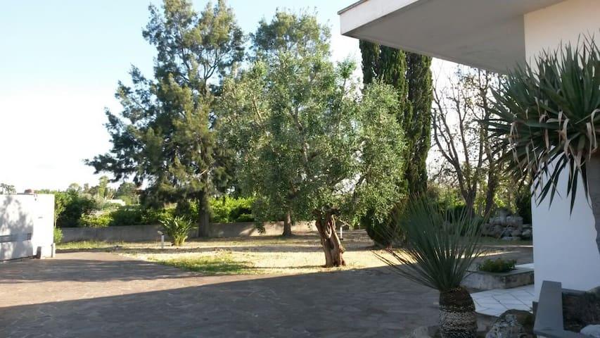 villa singola con grande giardino - GALATINA - Villa