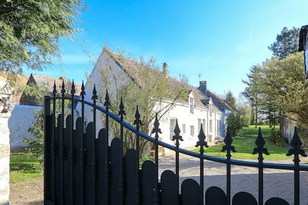 Self catering holiday rentals 360m2-20p chateaux - Concriers - House