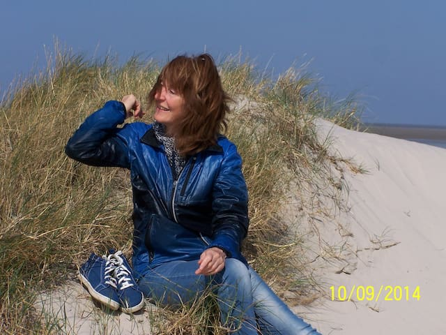 Doris auf der Düne