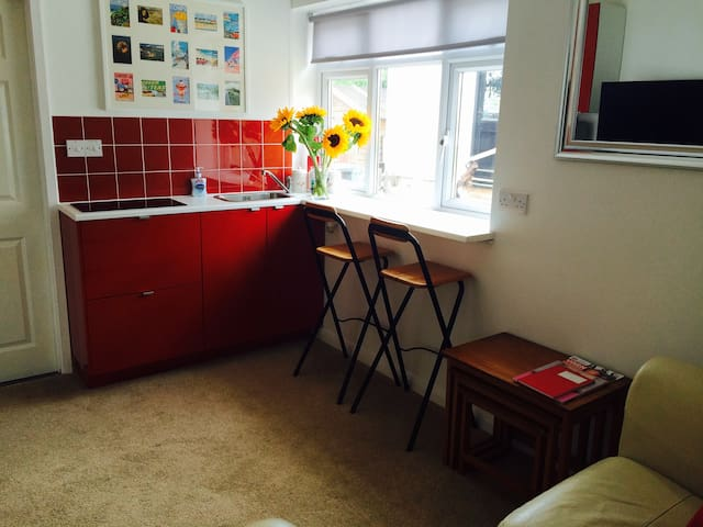 Cosy annex near sea with parking - Lyme Regis - Huoneisto
