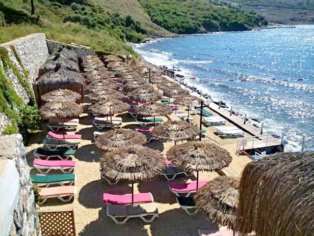 Sea View Apartment 20km Bodrum airport - Milas - Apartament