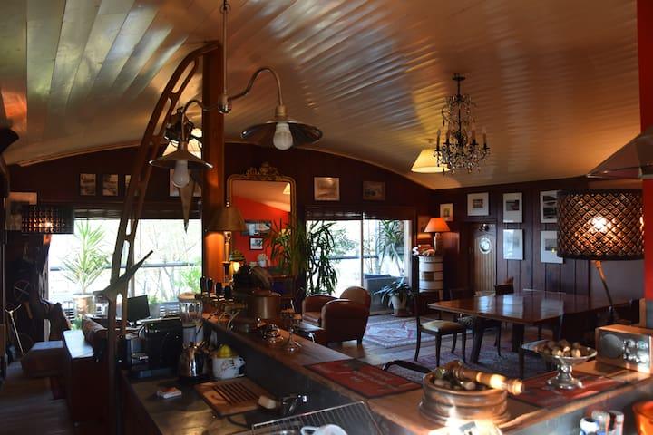 Situation exceptionnelle pour ce loft. - Bordeaux - Loft