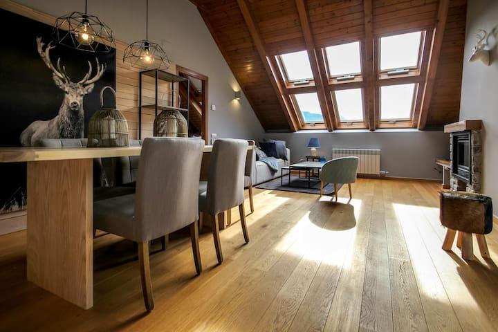 Ático Premium en Esterri d'Àneu - Esterri d'Àneu - Apartamento