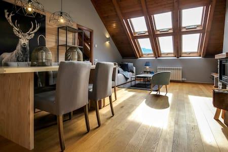 Ático Premium en Esterri d'Àneu - Esterri d'Àneu - 公寓