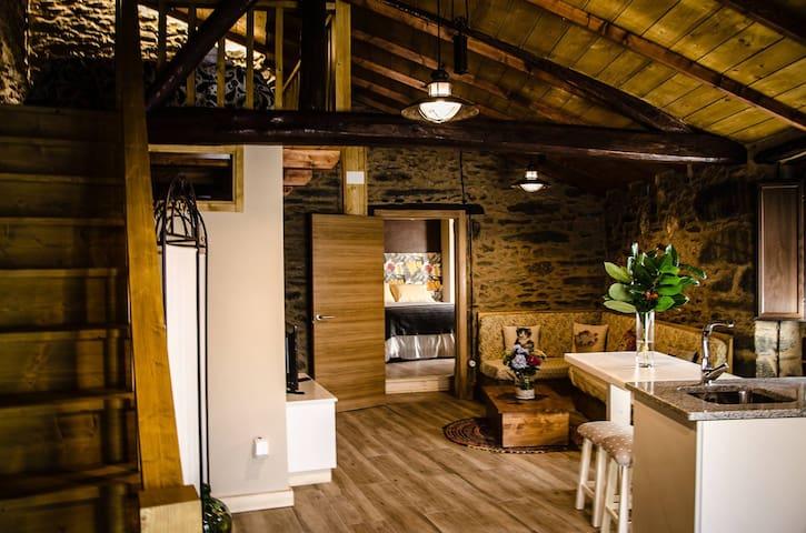 VILA DONATUS ( RIBEIRA SACRA) Casa turística. - Doade - House