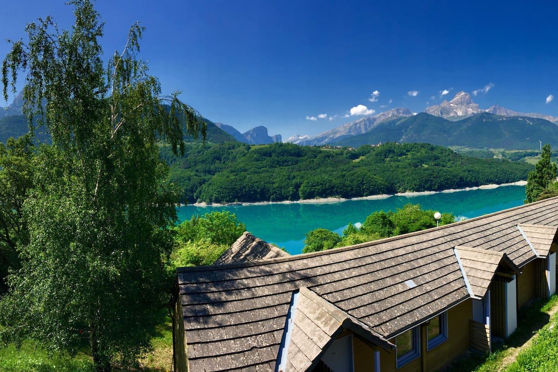 Vue panoramique sur le Lac !