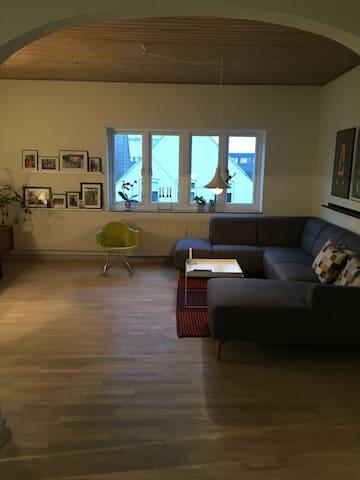 Stor lejlighed i centrum af Sønderborg - Sønderborg - Apartment
