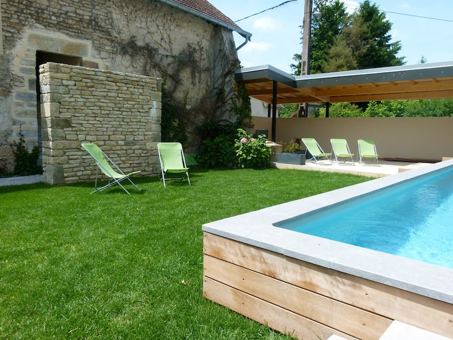 Gite le familial 4 pers piscine h user zur miete in for Piscine franche comte