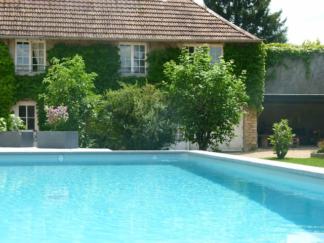 Gite L'Authentique 5 pers Piscine - Emagny - Hus