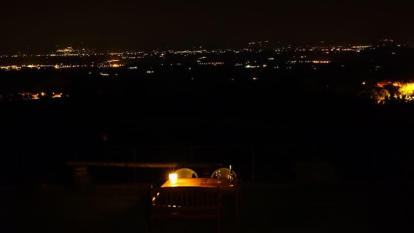 Stabbiano-Bilocale vista splendida - Montepulciano - Appartement