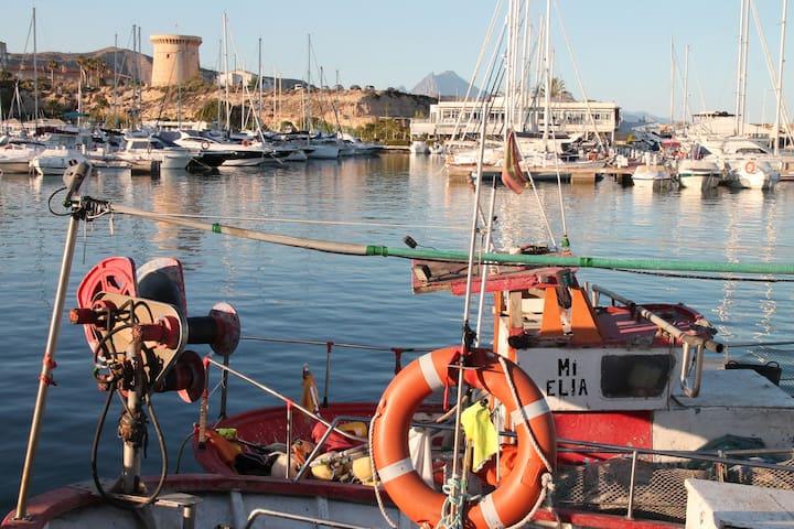 Appart idéal famille,Vue Mer,clim - El Campello