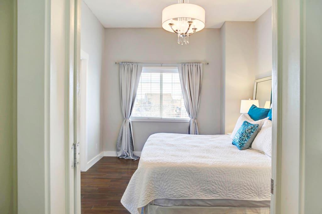 2nd Floor master suite King bed