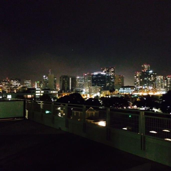 Beautiful views of downtown San Diego