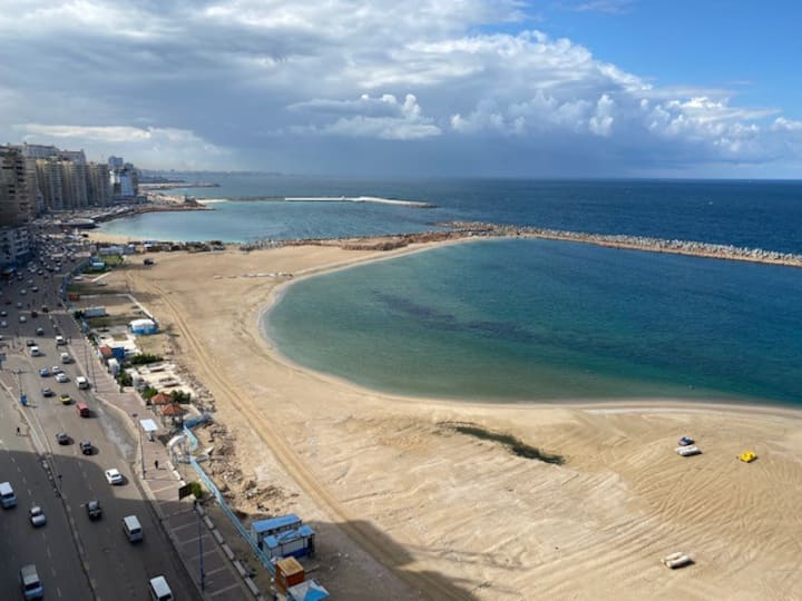 Sidi Bisher sea view apartment