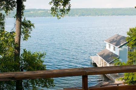 Secluded 120 ft private beach - Trumansburg - House
