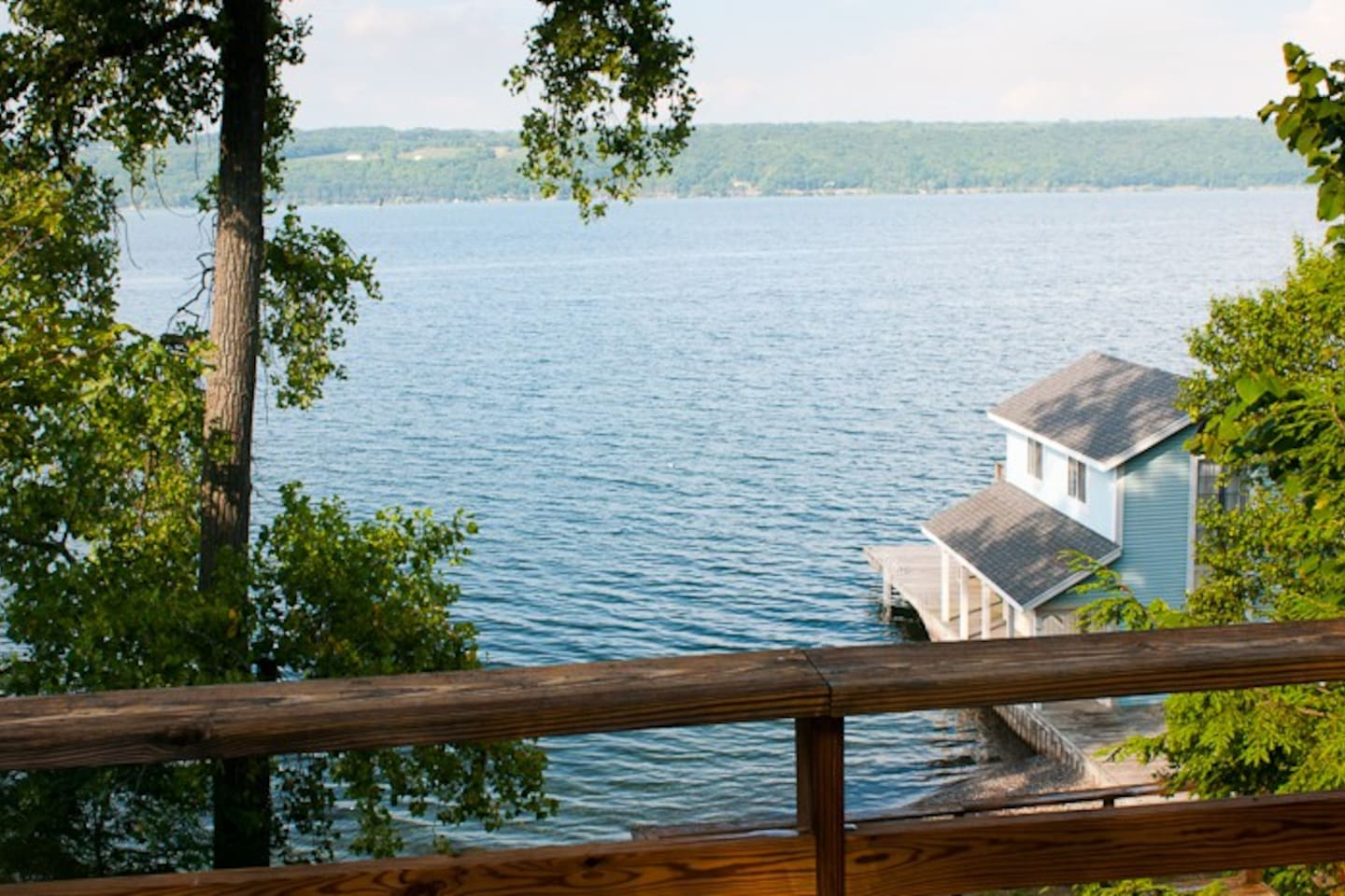 Secluded 120 ft private beach - Houses for Rent in Trumansburg, New ...