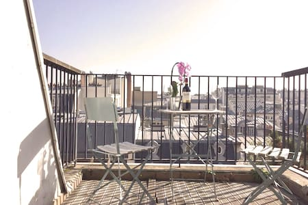 Appartement au dernier étage - Vue sur les toits ! - Paris - Apartment