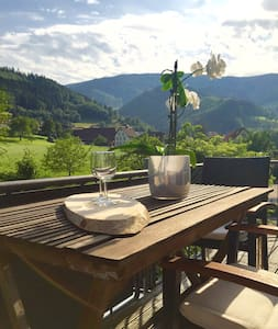 Das PENTHOUSE bei Freiburg  4* - Oberried - Apartment