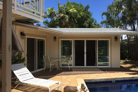 Poolside Brand New One Bedroom - Kailua - Dom