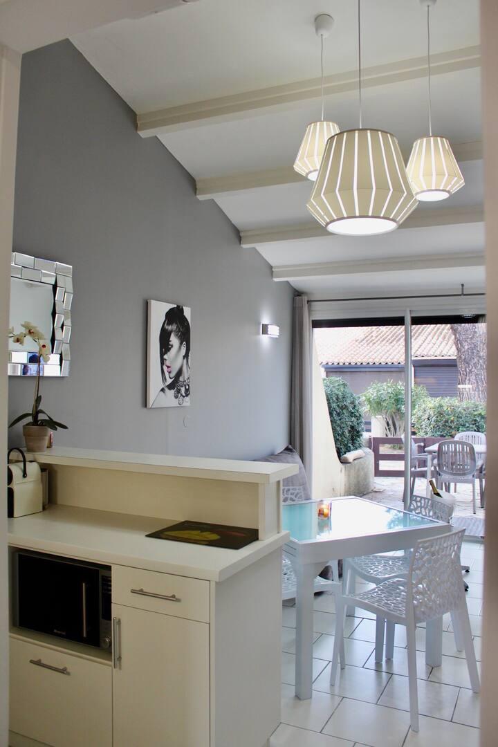 Villa 55 luxe Heliovillage cap d'Agde Naturiste