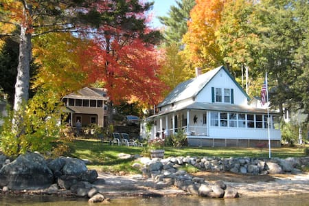 Beautiful Lakefront Cottage - Bristol - Dom