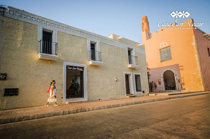 Casa San Roque en Centro Historico - Valladolid - Oda + Kahvaltı