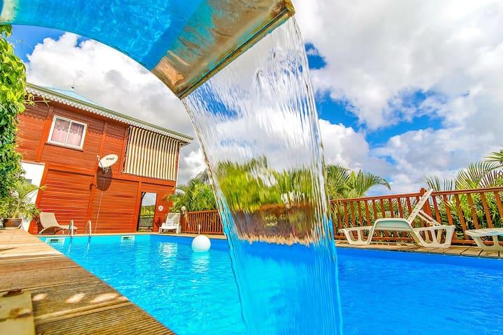 Lagons du Brésil vue mer, 4 à 6 personnes - La Trinité - Appartement en résidence