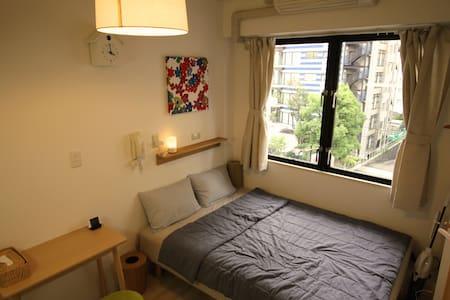 MUJI 1 Room near Subway & Osaka Castle - Ōsaka-shi