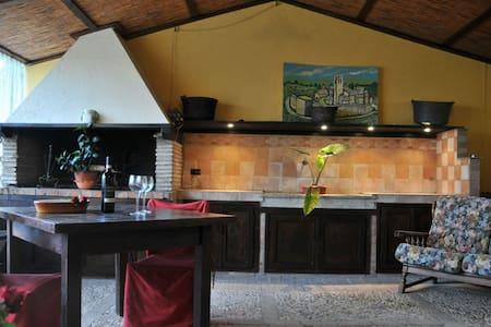 Elegante open space in Umbria - Campello Sul Clitunno - Apartmen