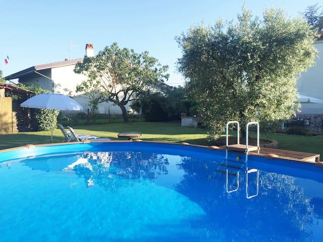 casa di campagna con piscina  - free wi-fi - Orentano