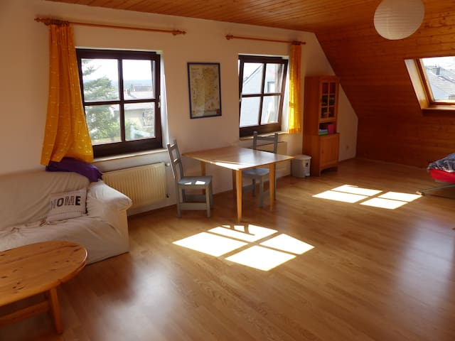 Huge bedroom with private bathroom - Königswinter - Huis