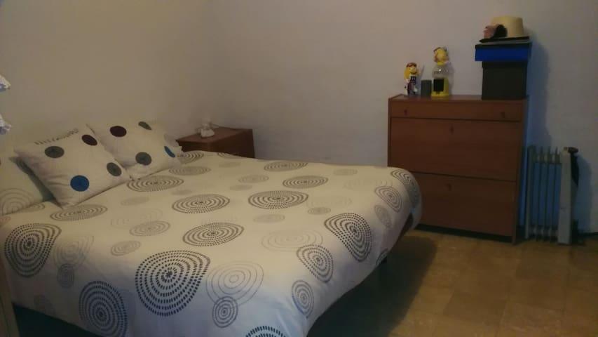 double room / hab matrimonial - Barcelona - Apartment