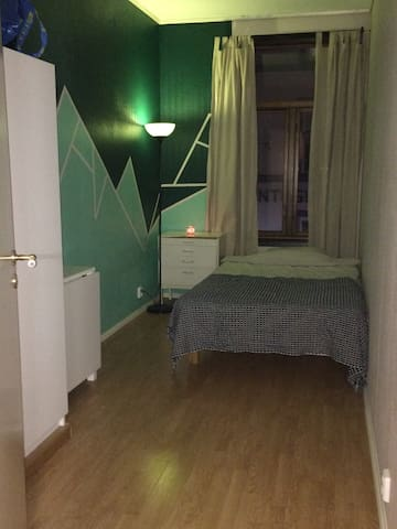 Cool room with double bed in the heart of Oslo