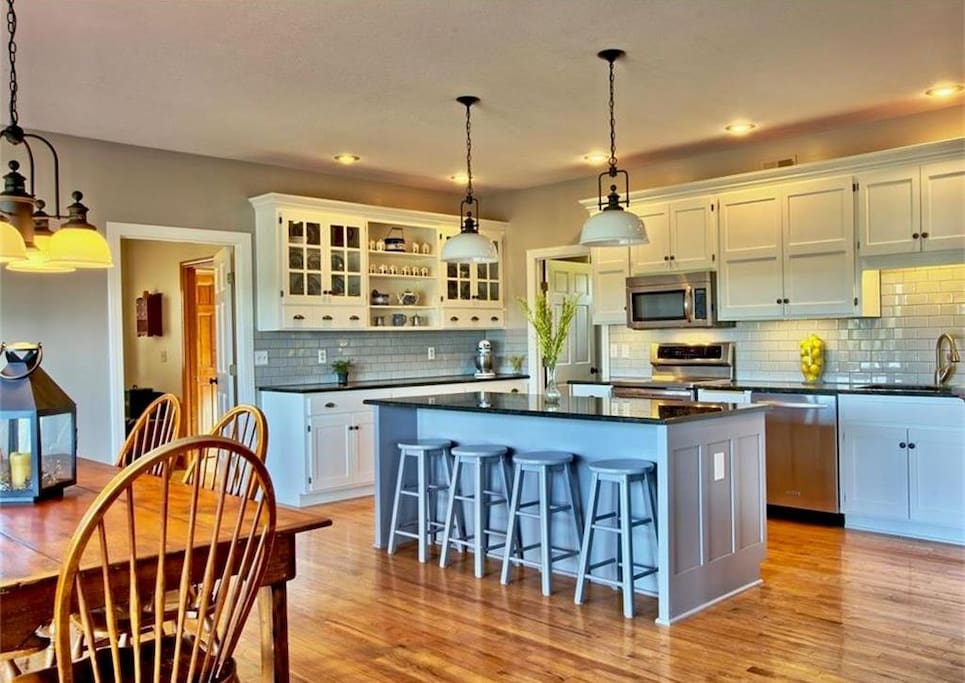 Beautiful Kitchen Equipped to Meet Your Group Needs