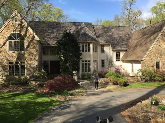 Main Line Mansion for Papal Visit - Berwyn - House
