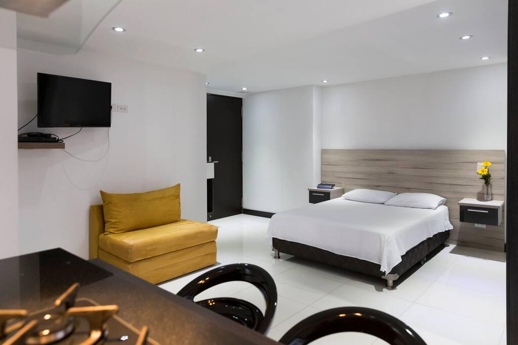 Apartamento de 30m2 tipo loft lofts for rent in medellin - Apartamentos tipo loft ...
