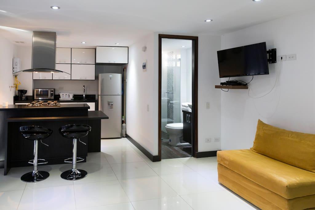 Apartamento de 30m2 tipo loft lofts for rent in medellin - Apartamento tipo loft ...