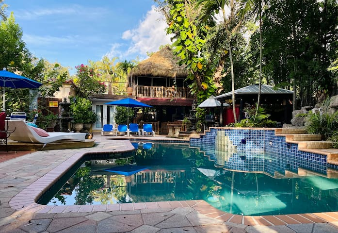 Treehouse oasis  🌿 10 min from Beach