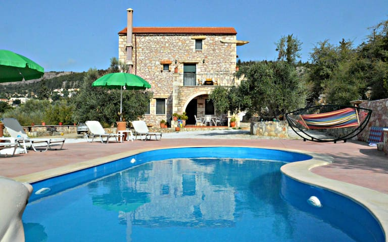 Villa Ierothea , Lay & Relax by the Pool..!!