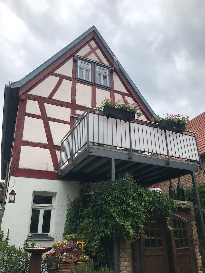 Wohnung in einem historischen Fachwerkhaus