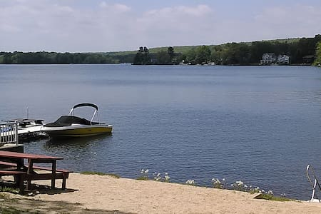 Lake house w/private beach & views. JULY SPECIAL! - East Hampton - House