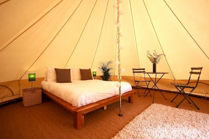 Sunridge Glamping - Upper Bell Tent - Worston - Barraca