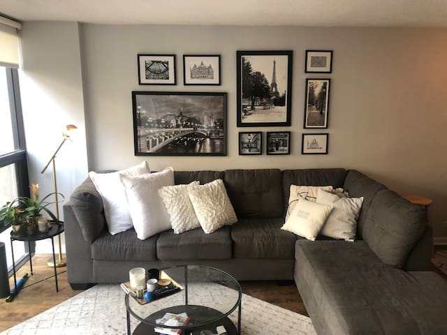 Beautiful condo steps from the Magnificent Mile!