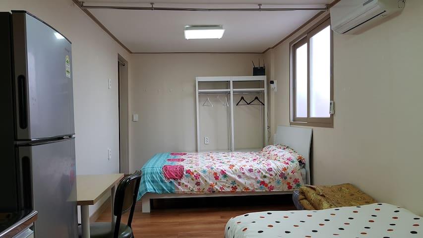 제주공항근처 용담동 개인실 전용욕실