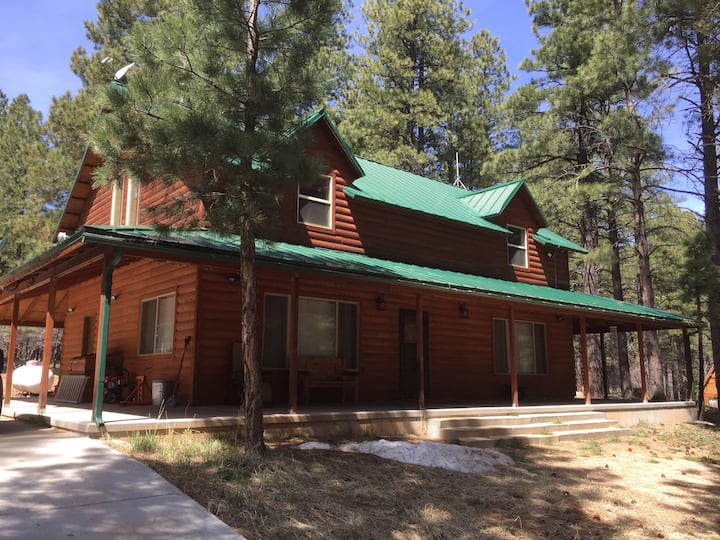 Our Mountain Getaway, surrounded by Ponderosa Pine
