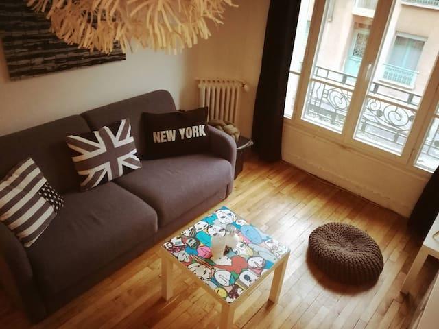 Appartement confortable à deux pas du parc expo