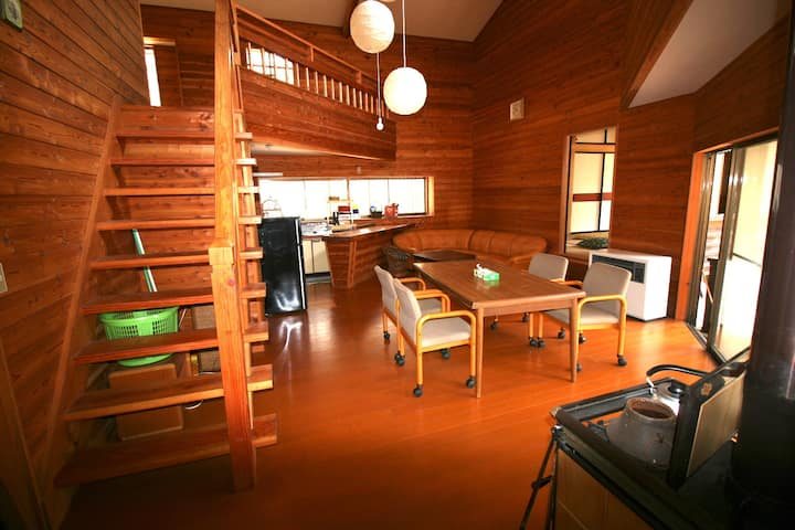 Whole House with 2 bed rooms at Kita-Karuizawa